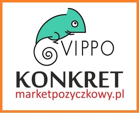 Pożyczka VIPPO w KONKRET. Kliknięcie w obrazek spowoduje wyświetlenie jego powiększenia