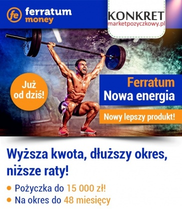 Nowa odsłona pożyczki Ferratum!!! Kliknięcie w obrazek spowoduje wyświetlenie jego powiększenia
