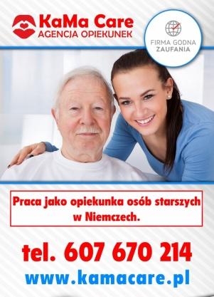 Praca jako opiekunka osób starszych w Niemczech. Kliknięcie w obrazek spowoduje wyświetlenie jego powiększenia