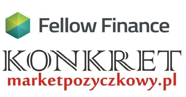 Nowa oferta pożyczki FELLOW FINANCE w KONKRET. Kliknięcie w obrazek spowoduje wyświetlenie jego powiększenia