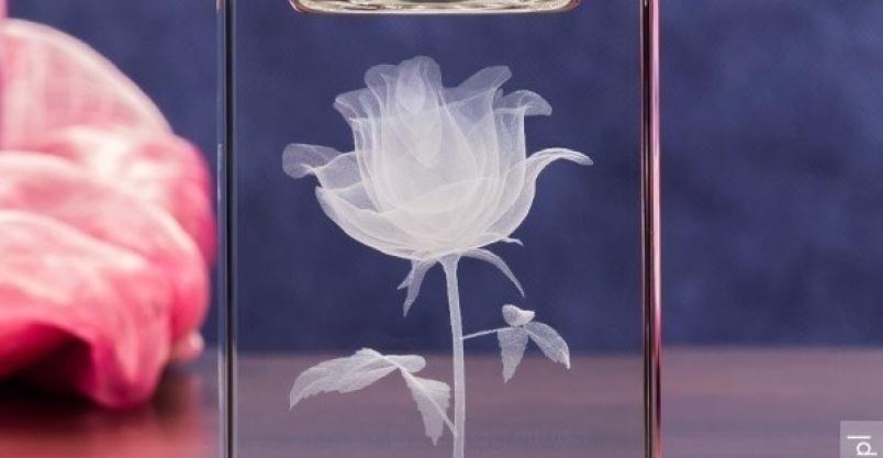 Prezent dla dziewczyny - personalizowany świecznik z różą 3D Kliknięcie w obrazek spowoduje wyświetlenie jego powiększenia