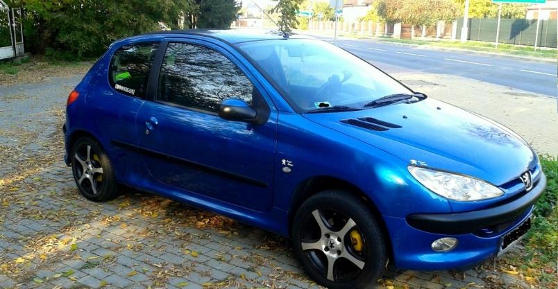 Peugeot 206 1,4 16V LPG KLIMA Oferta Prywatna Kliknięcie w obrazek spowoduje wyświetlenie jego powiększenia