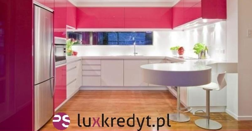 LUXusowa kuchnia z LUXKREDYT! Kliknięcie w obrazek spowoduje wyświetlenie jego powiększenia