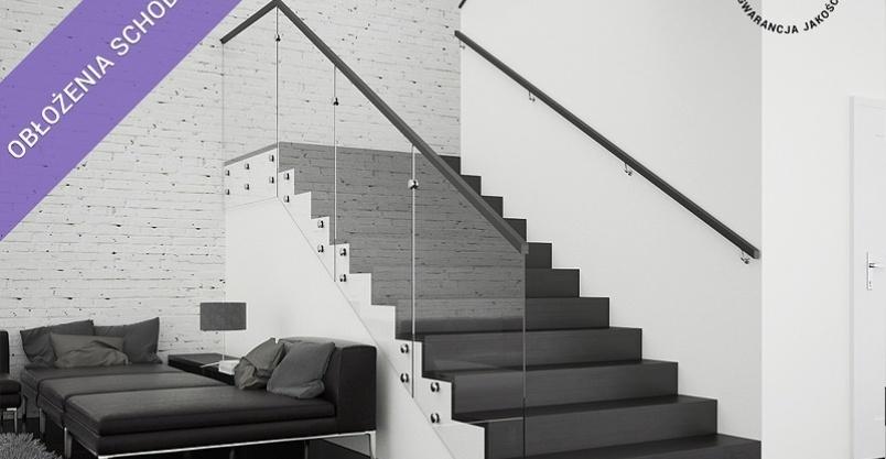 Obłożenie schodów betonowych - rabat do 20%! Kliknięcie w obrazek spowoduje wyświetlenie jego powiększenia