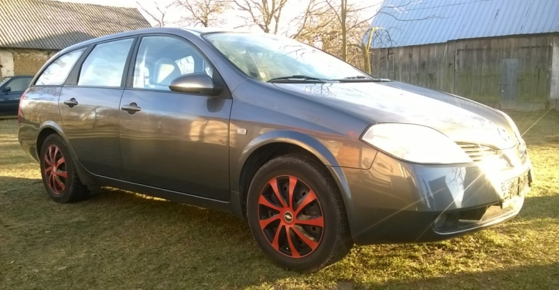 Nissan Primera P12  2005r 1,8 152 300 km cena 7700zł Kliknięcie w obrazek spowoduje wyświetlenie jego powiększenia