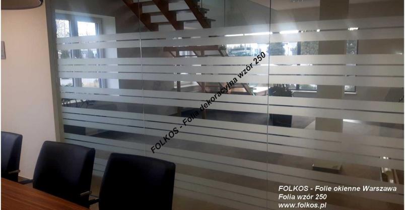 Folie do biur -Na ścianki działowe Płońsk -Oklejanie szyb folią -Folkos Folie Kliknięcie w obrazek spowoduje wyświetlenie jego powiększenia