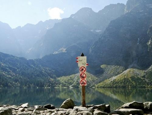 Jeździsz w Tatry, więc nie śmieć Kliknięcie w obrazek spowoduje wyświetlenie jego powiększenia