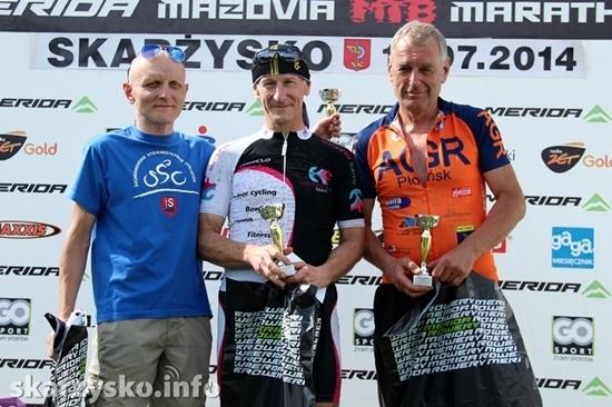 Andrzej Ferski na podium Mistrzostw Polski Kliknięcie w obrazek spowoduje wyświetlenie jego powiększenia