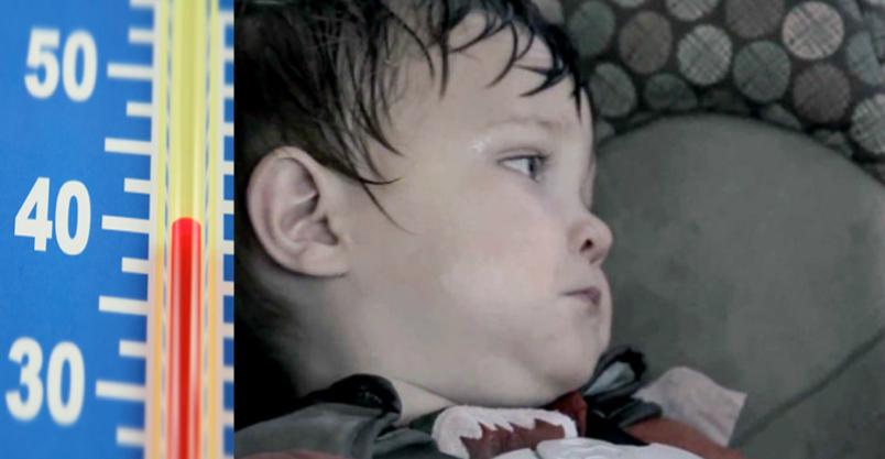 Nie zostawiaj dziecka w aucie Kliknięcie w obrazek spowoduje wyświetlenie jego powiększenia