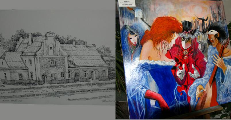 Płońsk ze starych fotografii oraz malarstwo Kliknięcie w obrazek spowoduje wyświetlenie jego powiększenia