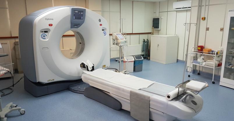 Tomograf nowszej generacji już czeka na pacjentów Kliknięcie w obrazek spowoduje wyświetlenie jego powiększenia