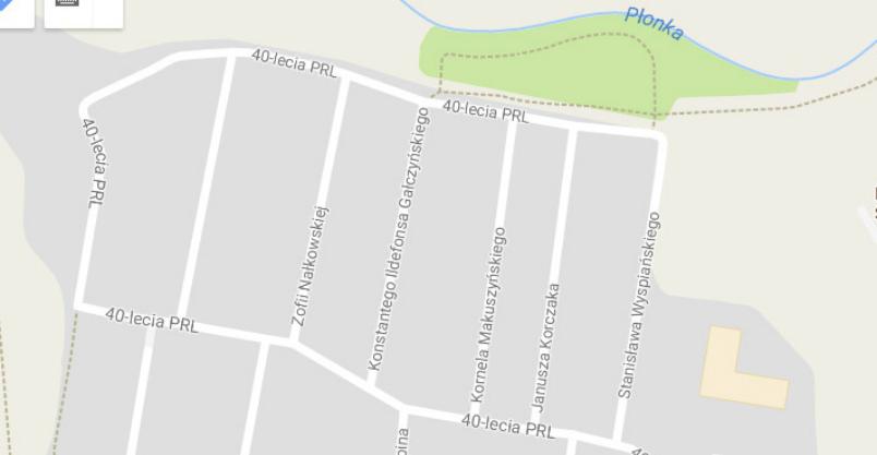 Zagłosuj na nowe nazwy ulic Kliknięcie w obrazek spowoduje wyświetlenie jego powiększenia