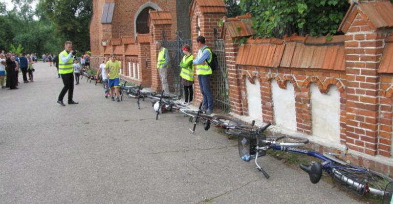 Rekord – najdłuższa linia z rowerów! Kliknięcie w obrazek spowoduje wyświetlenie jego powiększenia