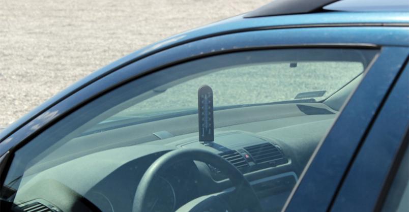 Upał - uwaga dziecko w samochodzie! Kliknięcie w obrazek spowoduje wyświetlenie jego powiększenia