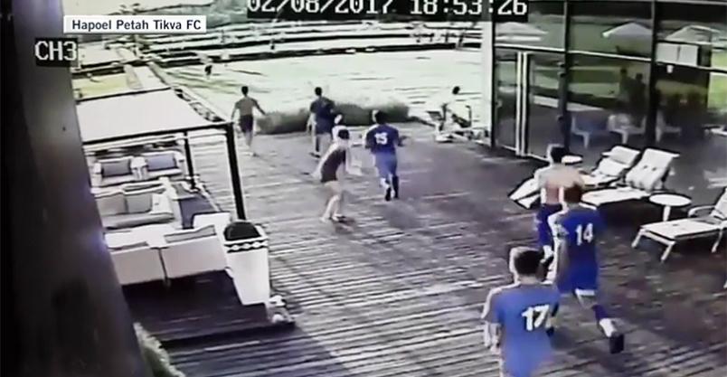 Atak na izraelską drużynę piłkarską w Sochocinie Kliknięcie w obrazek spowoduje wyświetlenie jego powiększenia