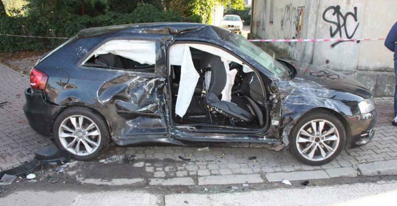 Groźny wypadek na Warszawskiej Kliknięcie w obrazek spowoduje wyświetlenie jego powiększenia