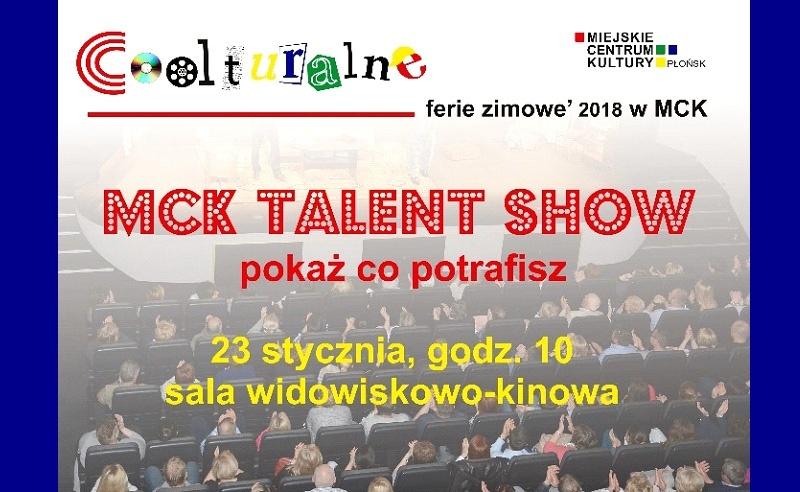 Płoński talent show Kliknięcie w obrazek spowoduje wyświetlenie jego powiększenia