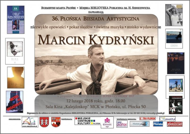 Marcin Kydryński będzie gościem płońskiej biesiady Kliknięcie w obrazek spowoduje wyświetlenie jego powiększenia