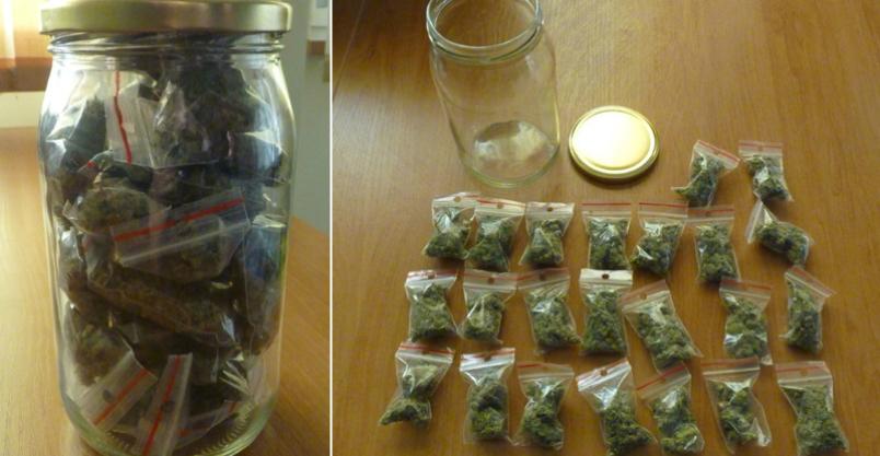 48 gramów marihuany Kliknięcie w obrazek spowoduje wyświetlenie jego powiększenia