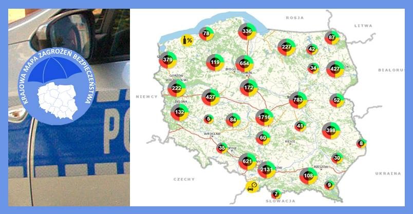 Zagrożenia na mapie Kliknięcie w obrazek spowoduje wyświetlenie jego powiększenia
