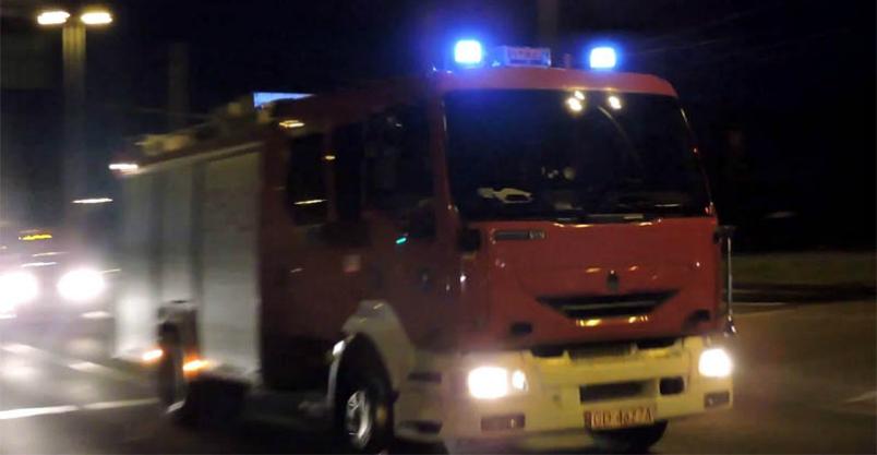 Zapaliła się komora silnika. W autobusie było 15 osób Kliknięcie w obrazek spowoduje wyświetlenie jego powiększenia