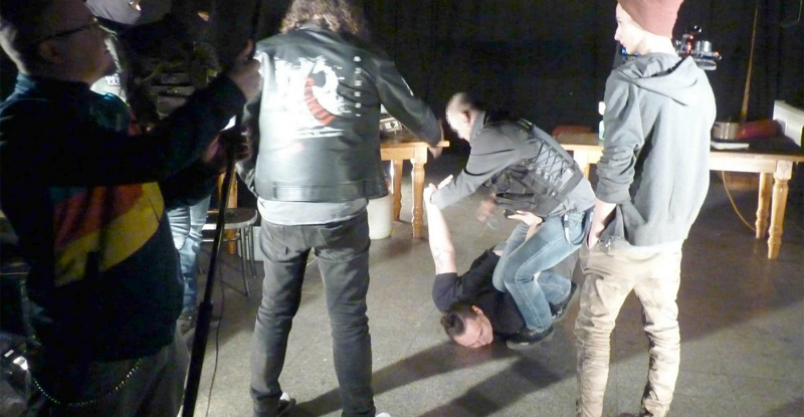 Płońscy policjanci w spocie u młodego twórcy Kliknięcie w obrazek spowoduje wyświetlenie jego powiększenia