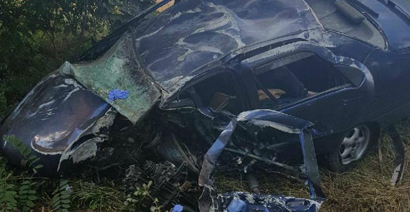 Odbijał się od drzew i dachował. Kierowca w stanie ciężkim Kliknięcie w obrazek spowoduje wyświetlenie jego powiększenia