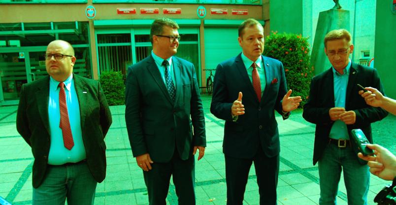 Kośmider i Ziółkowski na burmistrzów. Czapliński do sejmiku Kliknięcie w obrazek spowoduje wyświetlenie jego powiększenia