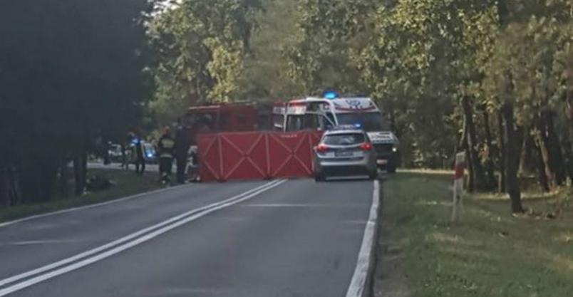 Motocyklista uderzył w ciągnik. Zginął na miejscu. Obywatel Ukrainy aresztowany Kliknięcie w obrazek spowoduje wyświetlenie jego powiększenia