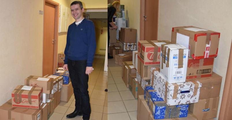 Świąteczna pomoc dla polskich dzieci z Łotwy i Litwy Kliknięcie w obrazek spowoduje wyświetlenie jego powiększenia