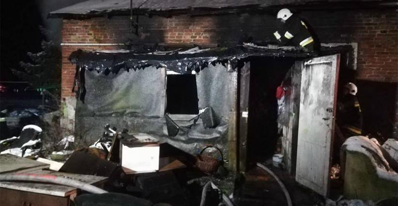Pożar pod Nowym Miastem. Nie żyje lokatorka Kliknięcie w obrazek spowoduje wyświetlenie jego powiększenia