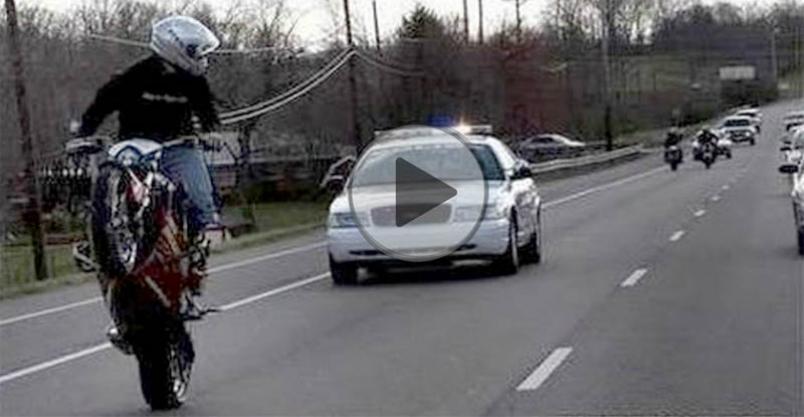"""Uciekał przed policją  """"lewym""""motocyklem bez uprawnień i z promilami Kliknięcie w obrazek spowoduje wyświetlenie jego powiększenia"""