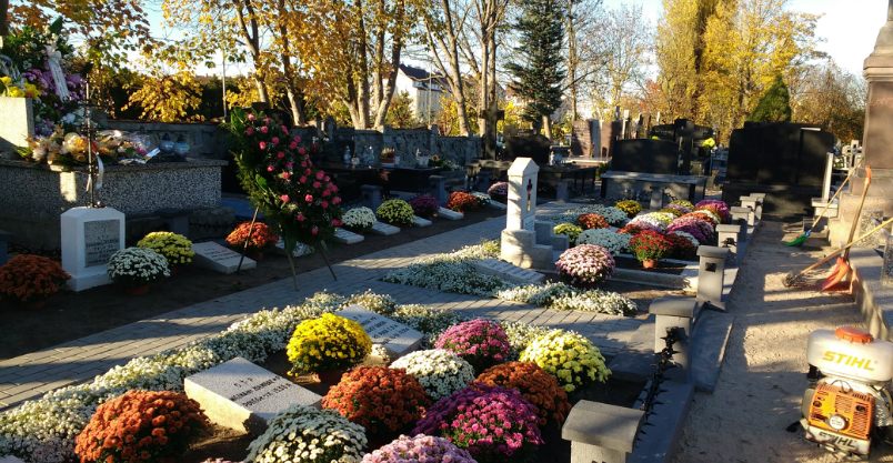 Pomniki, zabytkowe groby i zbiorowe mogiły pod opieką  Kliknięcie w obrazek spowoduje wyświetlenie jego powiększenia