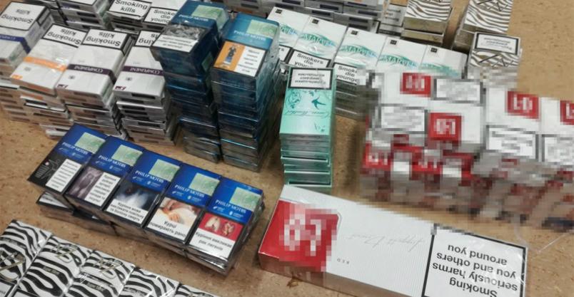 Ponad 52 tys. papierosów bez polskich znaków akcyzy Kliknięcie w obrazek spowoduje wyświetlenie jego powiększenia