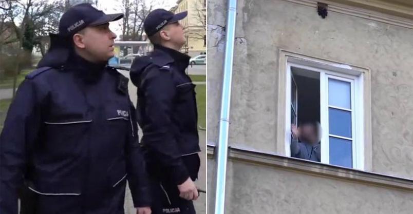 """Policyjny nadzór nad osobami """"podejrzanymi"""" o zarażenie Kliknięcie w obrazek spowoduje wyświetlenie jego powiększenia"""