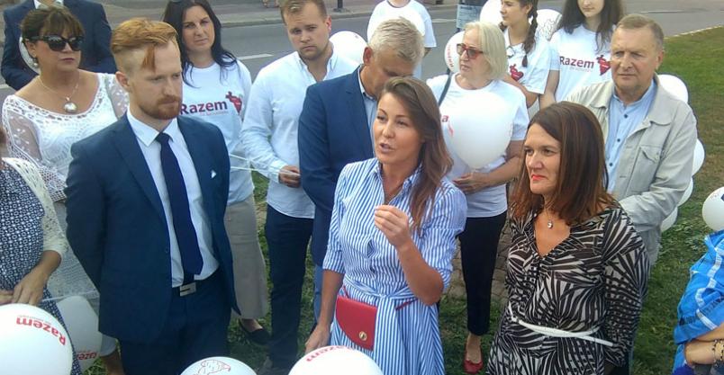 Starosta Elżbieta Wiśniewska zarzuca dyrektorowi szpitala niegospodarność   Kliknięcie w obrazek spowoduje wyświetlenie jego powiększenia