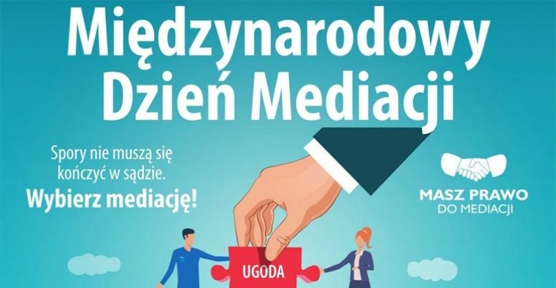 Sąd Rejonowy w Płońsku zaprasza na tydzień mediacji Kliknięcie w obrazek spowoduje wyświetlenie jego powiększenia