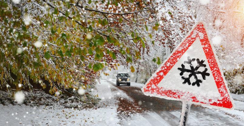 Pierwszy atak zimy i aż 8 kolizji w zaledwie kilka godzin Kliknięcie w obrazek spowoduje wyświetlenie jego powiększenia