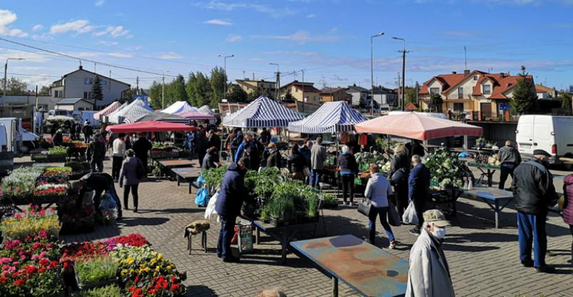 """""""Mój Rynek"""" powstaje przy Pułtuskiej Kliknięcie w obrazek spowoduje wyświetlenie jego powiększenia"""
