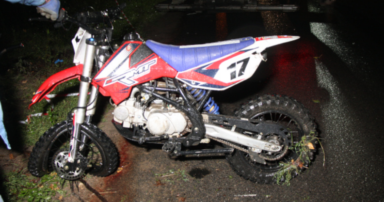 [AKTUALIZACJA] Zginął motocyklista Kliknięcie w obrazek spowoduje wyświetlenie jego powiększenia