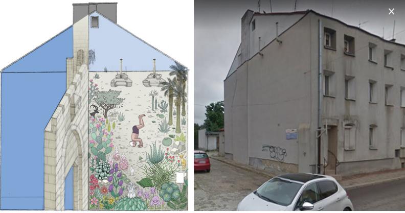 Powstanie mural z Davidem Ben Gurionem Kliknięcie w obrazek spowoduje wyświetlenie jego powiększenia