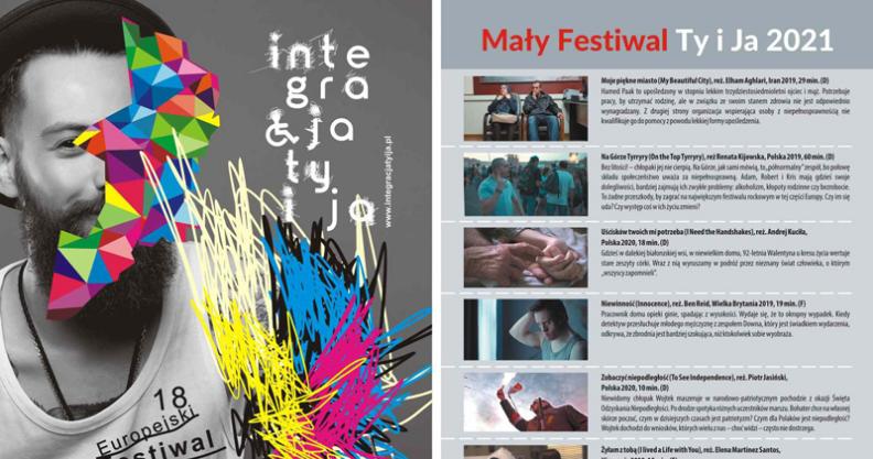 [ZAPOWIEDŹ] Europejski Festiwal Filmowy INTEGRACJA Kliknięcie w obrazek spowoduje wyświetlenie jego powiększenia