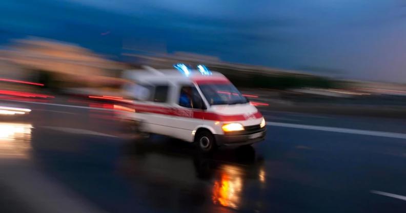 Wypadek w Goławinie. 30-latka z obrażeniami ciała Kliknięcie w obrazek spowoduje wyświetlenie jego powiększenia